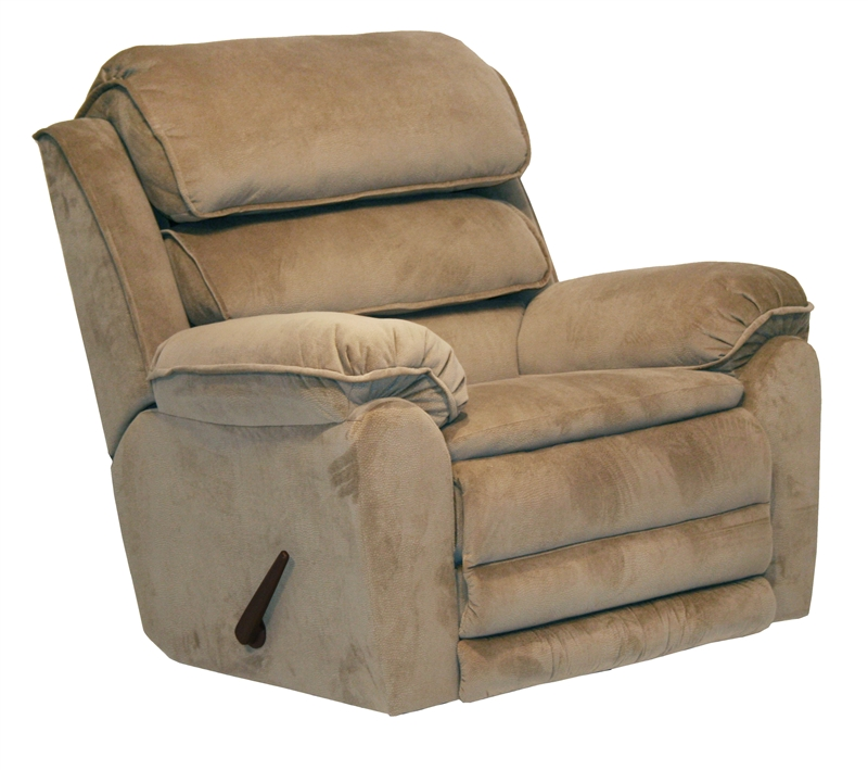 Vista Power Chaise Wall Hugger Recliner In Sandelwood