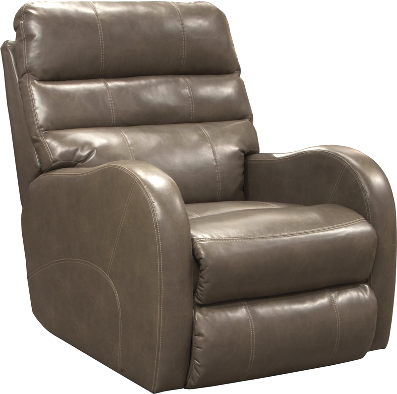 Searcy Power Wall Hugger Recliner In Coffee Leather Like