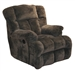 Cloud 12 Chaise Rocker Recliner in Chocolate Microfiber by Catnapper - 6541-2-CH