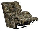 Duck Dynasty Big Falls POWER Lay Flat Recliner in Realtree Xtra Camouflage Fabric by Catnapper - 65805-7-R