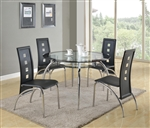 Mila 5 Piece Dining Set by Crown Mark - 1270