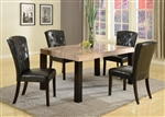 Misha 5 Piece Dining Set in Espresso Finish by Crown Mark - 2230