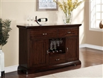 Daria Sideboard in Espresso Finish by Crown Mark - 2234-SB