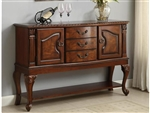 Neo Renaissance Sideboard in Burnished Cherry Finish by Crown Mark - 2400-SB
