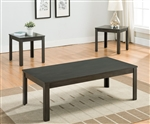 Pierce 3 Piece Occasional Table Set in Grey Finish by Crown Mark - CM-4710-GY