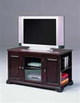"Harris 48"" TV Console with Storage in Espresso Finish by Crown Mark - 4813-ESP"