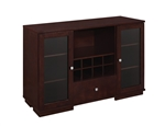 Gabriel Server in Cappuccino Finish by Coaster - 100775