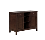 Lavon Server in Warm Brown Finish by Coaster - 100885