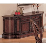 Tabitha Buffet in Rich Cherry Finish by Coaster - 101034B