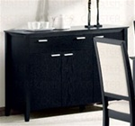 Louise Server in Black Finish by Coaster - 101565