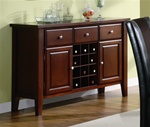 Foxborough Server in Cherry Finish by Coaster - 102245