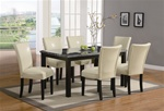 Carter 5 Piece Dining Set in Deep Cappuccino Finish by Coaster - 102261