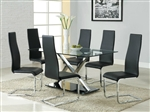 5 Piece Dining Set by Coaster - 102320B