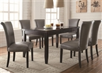 Newbridge 7 Piece Dining Set in Cappuccino Finish by Coaster - 102882