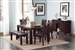 Prewitt 6 Pc Dining Set in Espresso Finish by Coaster - 102941