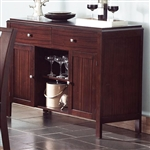 Prewitt Server in Espresso Finish by Coaster - 102945