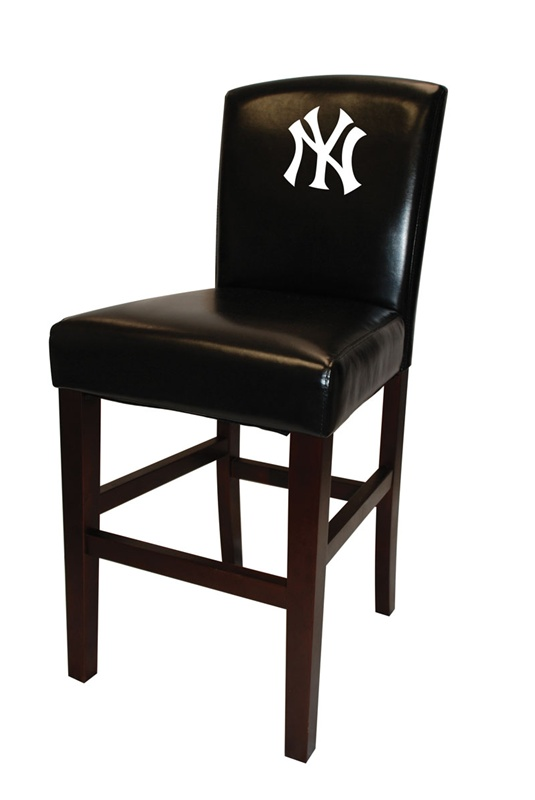 MLB NEW YORK YANKEES 30quot Seat Height Bar Stool by Coaster  : COA 102YANK 2 from www.homecinemacenter.com size 535 x 800 jpeg 48kB