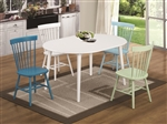 Emmett 5 Piece Oval Dining Table Set by Coaster - 103071-C