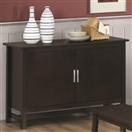Server in Cappuccino Finish by Coaster - 103375