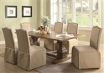 Parkins 7 Piece Dining Set in Coffee Finish by Coaster - 103711S
