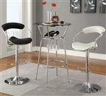 3 Piece Storage Bar Table Set by Coaster - 104026