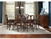 Beamont 5 Piece Dining Set in Merlot Finish by Coaster - 104131