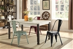 Bellany 5 Piece Dining Set in Antique White Finish by Coaster - 104161