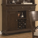 Camilla Buffet in Brown Cherry Finish by Coaster - 104574B
