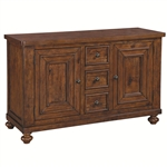Jonas Server in Rustic Brown Finish by Coaster - 104725