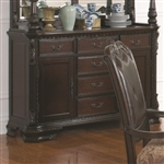 Valentina Buffet in Warm Brown Finish by Coaster - 105384B