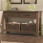 Bridgeport Server in Weathered Acacia Finish by Coaster - 105525