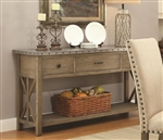 Webber Server in Driftwood Finish by Coaster - 105575
