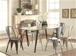 Bellevue 5 Piece Dining Table Set in Antique Rustic Finish by Coaster - 105611