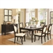 Crest Hill 5 Piece Dining Set in Cherry Brown Finish by Coaster - 105671