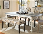 Matisse 5 Piece Dining Set in Antique White Two Tone Finish by Coaster - 106111
