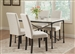 Nagel 5 Piece Faux Marble Top Dining Set by Coaster - 106131-W