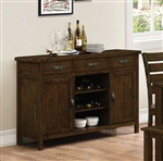 Wiltshire Server in Rustic Pecan Finish by Coaster - 106365