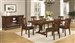 Abrams 5 Piece Dining Set in Truffle Finish by Coaster - 106481
