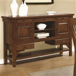 Abrams Server in Truffle Finish by Coaster - 106485