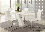 Mameth 5 Piece Dining Table Set by Coaster - 120931-W