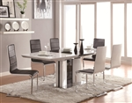 Broderick 5 Piece Dining Table Set by Coaster - 120941