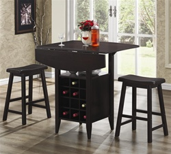 3 Piece Bar Table Set by Coaster - 150100
