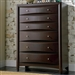 Phoenix Chest in Rich Deep Cappuccino Finish by Coaster - 200415