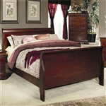 Louis Philippe Bed in Cherry Finish by Coaster - 200431Q