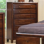 Hillary Chest in Warm Brown Finish by Coaster - 200645