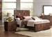 Gallagher Bed in Golden Brown Finish by Coaster - 200851Q
