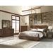 Avery Platform Bed 6 Piece Bedroom Set in Aged Bourbon Finish by Coaster - 200981