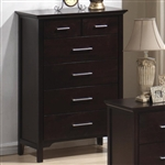 Kendra Chest in Mahogany Finish by Coaster - 201295