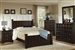 Harbor 6 Piece Bedroom Set in Rich Cappuccino Finish by Coaster - 201381