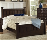 Harbor Bed in Rich Cappuccino Finish by Coaster - 201381Q